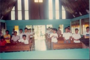 Exodians, NDAS Chapel 1987