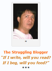 Roy:The Struggling Blogger