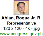 Is this Ablan, Roque Jr. R.