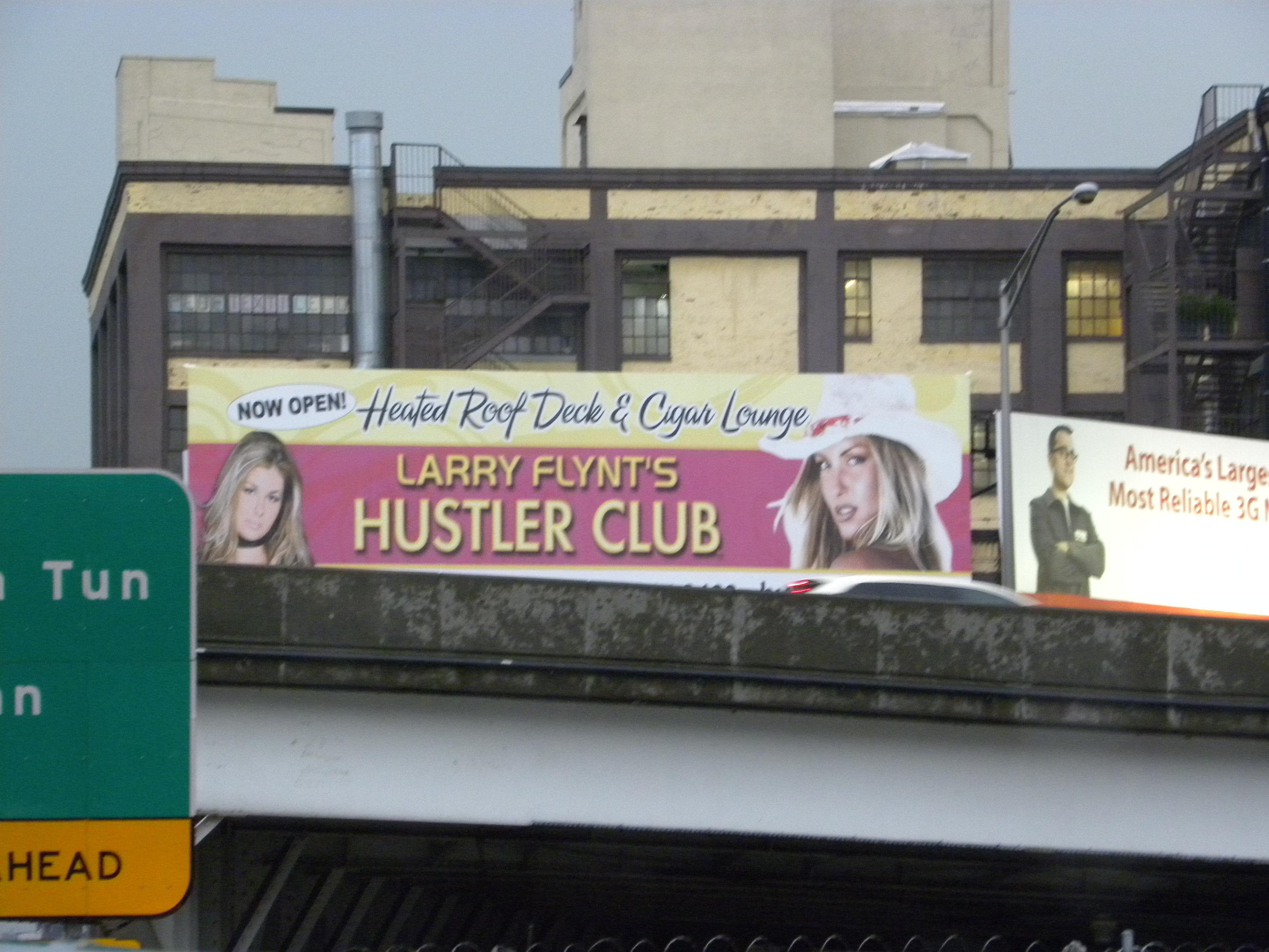 Hustler club new york city