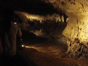 Inside sa bangag ni Luray Caverns