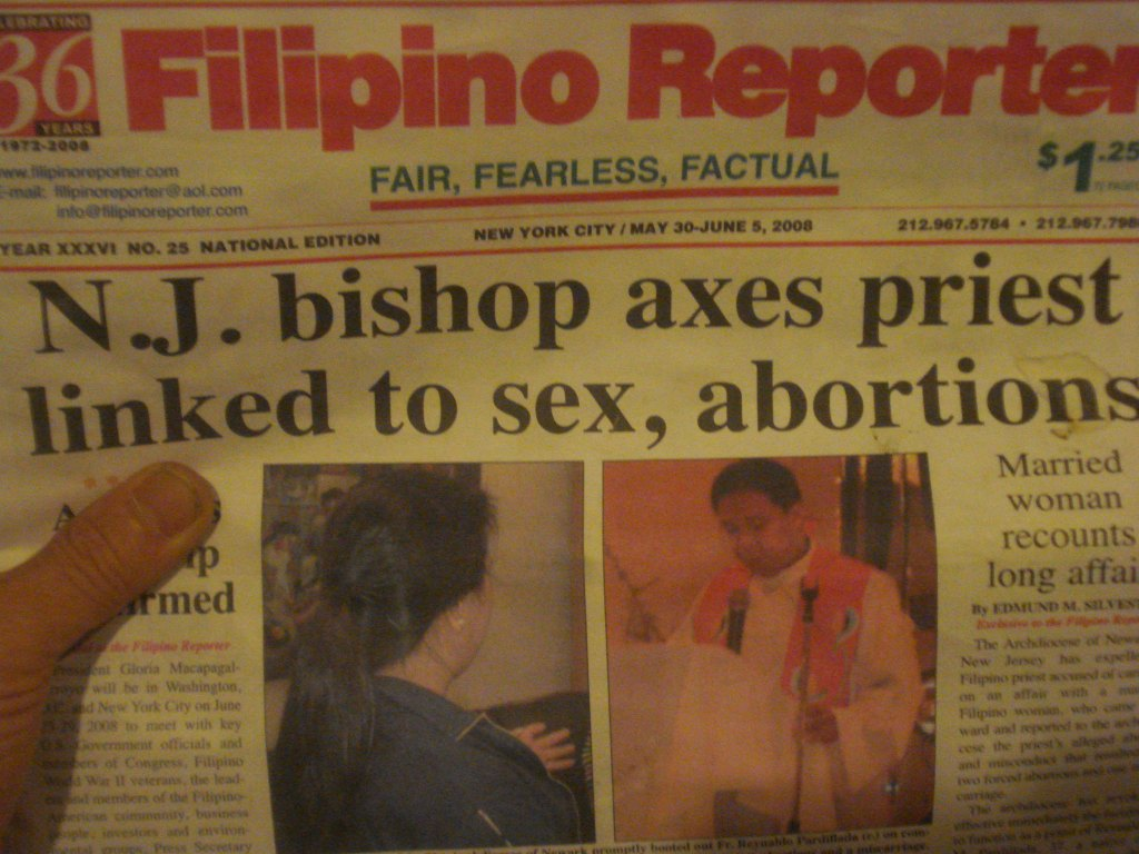 priests linked to sex, abortions