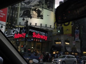 Manhattan scene