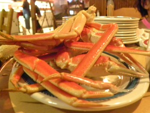 dose of crab legs