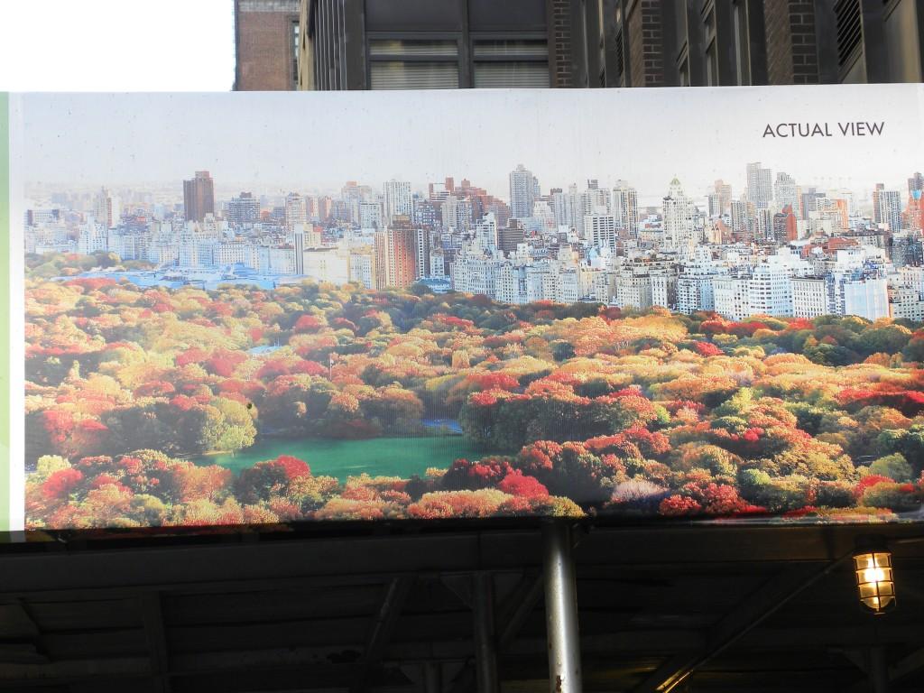 Central Park Billboard