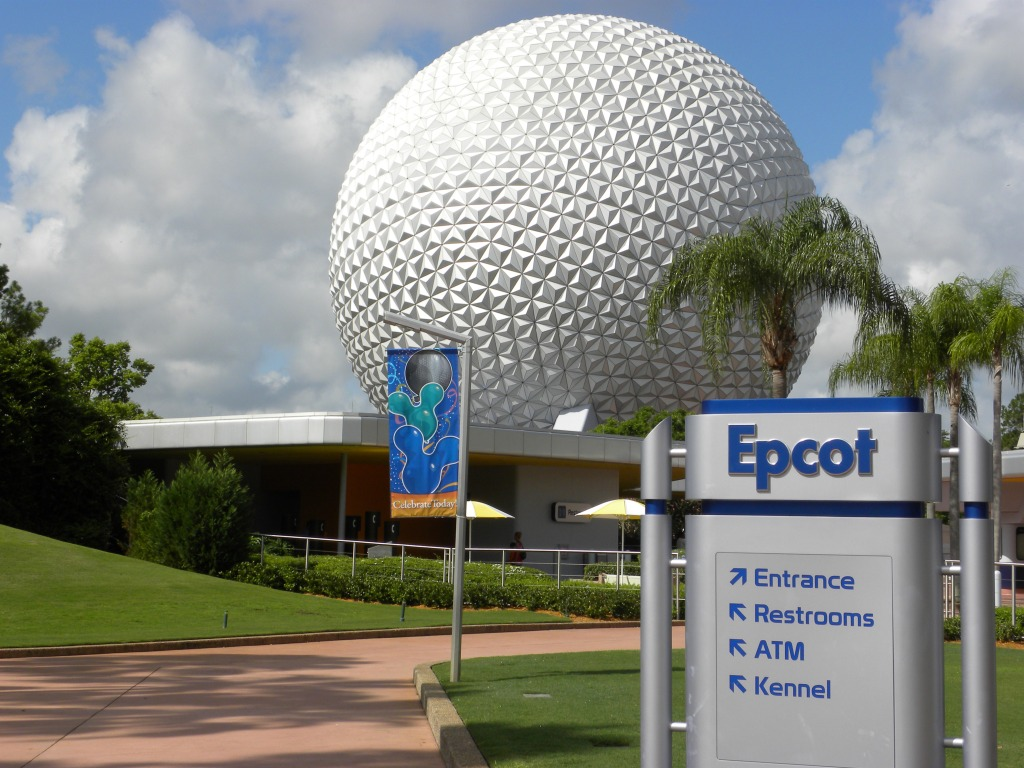 Epcot August 2009