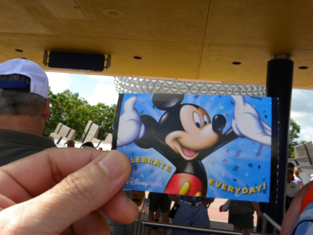 My Mickey ticket