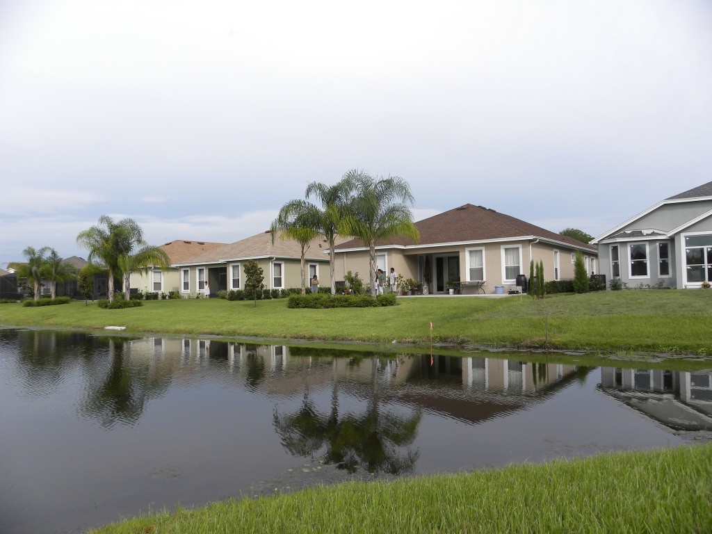 Friend's houses near the lake, wow!
