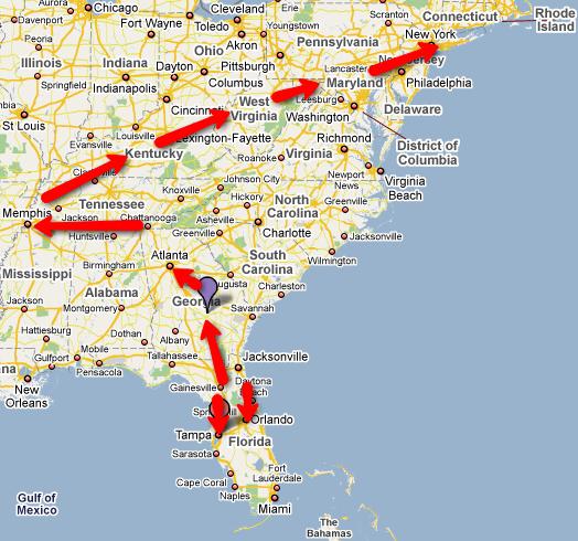 map-road-trip