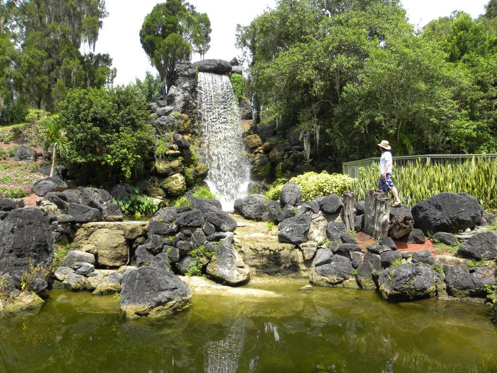 cypress gardens, falls