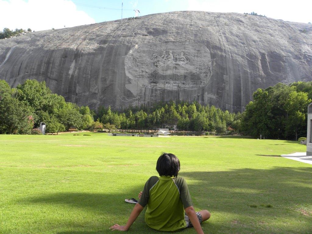 kiddo-stone-mountain
