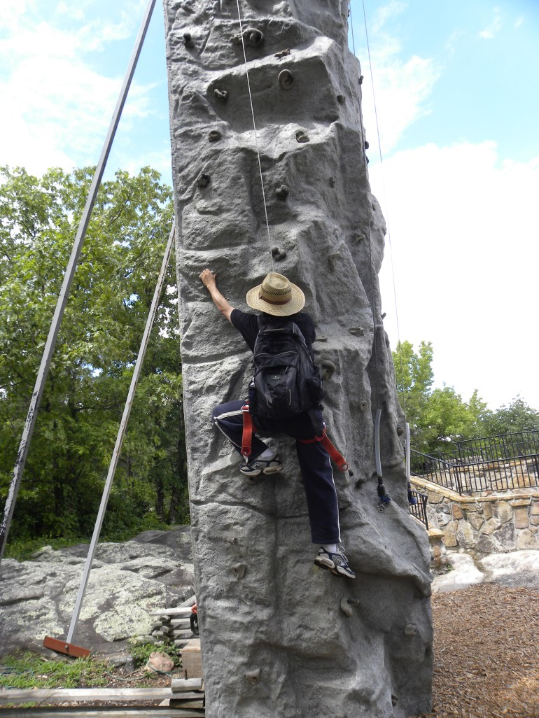 rock city, rock climb