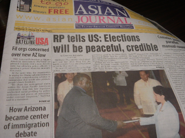 peaceful and credible 2010 election
